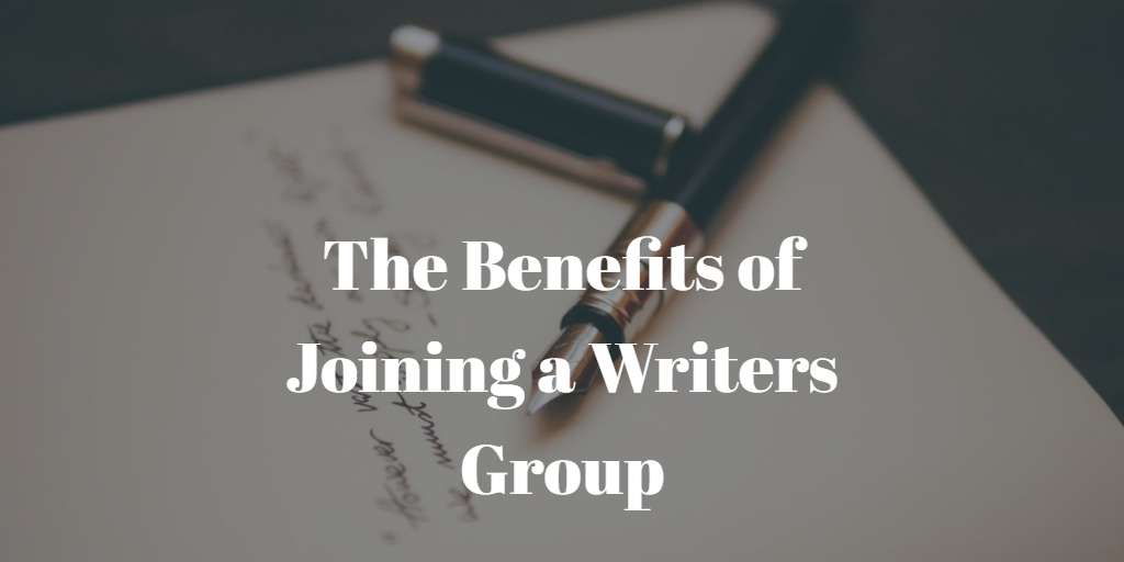 The Benefits of Joining a Writers Group