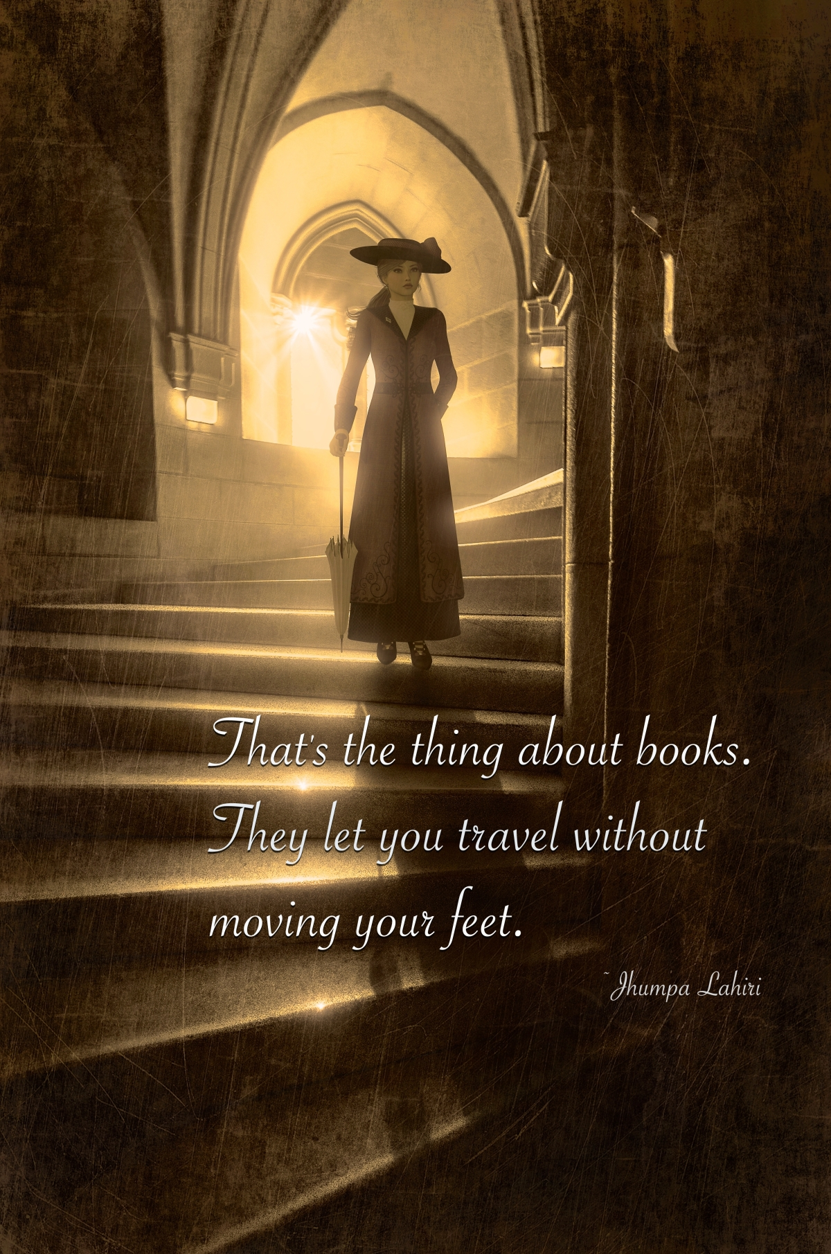 That's the thing about books. They let you travel without moving your feet. #Books#quotes